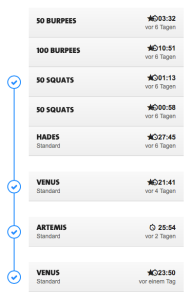 Freeletics coach - week 10