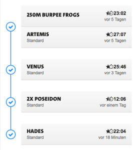 Freeletics coach week 11