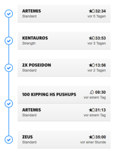 Freeletics week 12