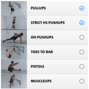 Freeletics advanced skills